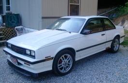 Chevrolet Cavalier I Facelift Coupe