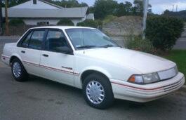 Chevrolet Cavalier II Restyling Limousine