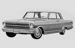 Chevrolet Chevy II Nova I Saloon