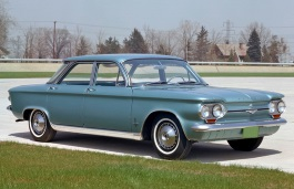 Chevrolet Corvair wheels and tires specs icon