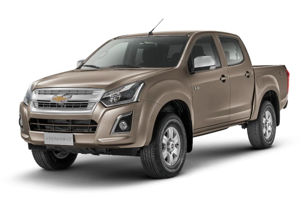 Chevrolet D-Max wheels and tires specs icon