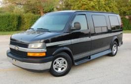 Chevrolet Express 1500 Facelift Van