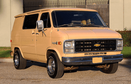 Chevrolet G20 wheels and tires specs icon