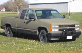 Chevrolet K1500 Pickup Extended Cab