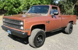 Chevrolet K20 wheels and tires specs icon