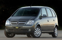 Chevrolet Meriva wheels and tires specs icon