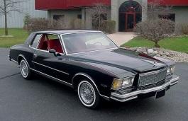 雪佛兰 Monte Carlo III Coupe