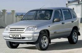 Chevrolet Niva wheels and tires specs icon