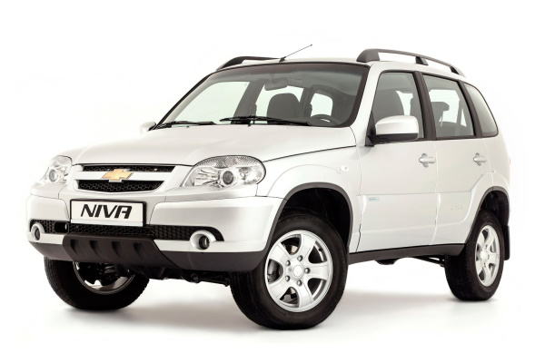 Chevrolet Niva Facelift Closed Off-Road Vehicle