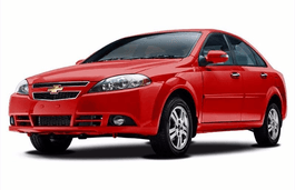 Chevrolet Optra wheels and tires specs icon