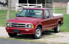 Chevrolet S10 II Pickup Extended Cab