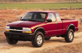 Chevrolet S10 II Restyling Pickup Extended Cab