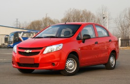 Chevrolet Sail wheels and tires specs icon