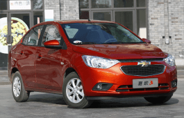 Chevrolet Sail3 wheels and tires specs icon