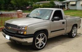 Chevrolet Silverado 1500 wheels and tires specs icon