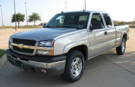 Chevrolet Silverado 1500 Classic GMT800 Pickup Extended Cab