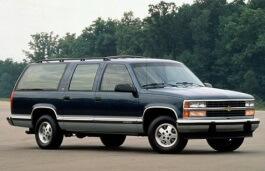 Chevrolet Suburban 1500 wheels and tires specs icon