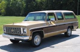 Chevrolet C20 Suburban SUV