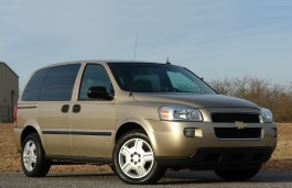 Chevrolet Uplander wheels and tires specs icon
