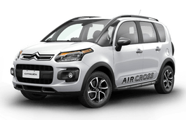 Citroën Aircross wheels and tires specs icon