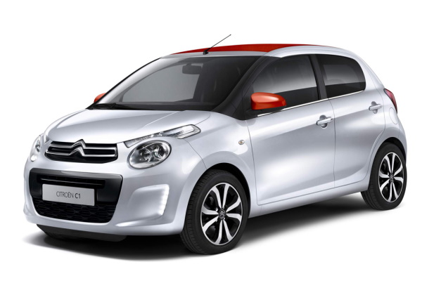 Citroën C1 wheels and tires specs icon