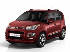Citroën C3 Picasso wheels and tires specs icon