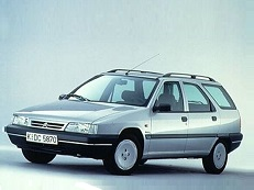 Citroën ZX wheels and tires specs icon