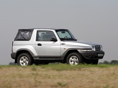 大宇汽车 Korando KJ Open Off-Road Vehicle
