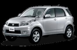 Daihatsu Be-Go wheels and tires specs icon