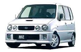 Daihatsu Move Custom II Hatchback
