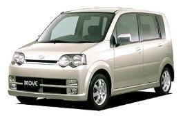 Daihatsu Move Custom III Hatchback