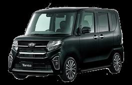Daihatsu Tanto Custom wheels and tires specs icon