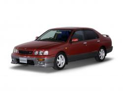 Nissan Bluebird wheels and tires specs icon