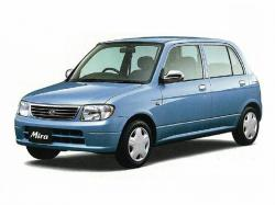 Daihatsu Mira wheels and tires specs icon