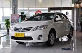 Icona per specifiche di ruote e pneumatici per FAW Toyota Corolla