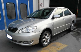 Icona per specifiche di ruote e pneumatici per FAW Toyota Corolla EX