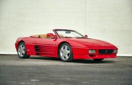 Icona per specifiche di ruote e pneumatici per Ferrari 348 Spider