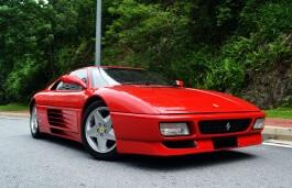 Icona per specifiche di ruote e pneumatici per Ferrari 348 tb