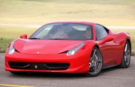 Ferrari 458 Italia Räder- und Reifenspezifikationensymbol