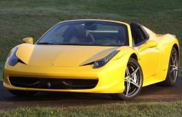 Ferrari 458 Spider wheels and tires specs icon