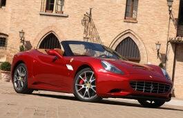 Ferrari California wheels and tires specs icon