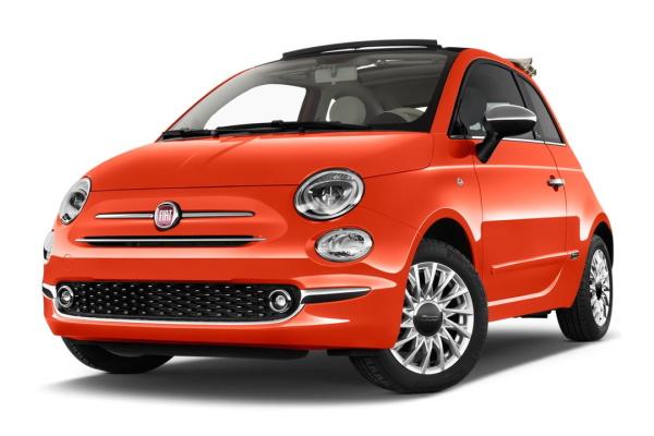 Fiat 500C Räder- und Reifenspezifikationensymbol