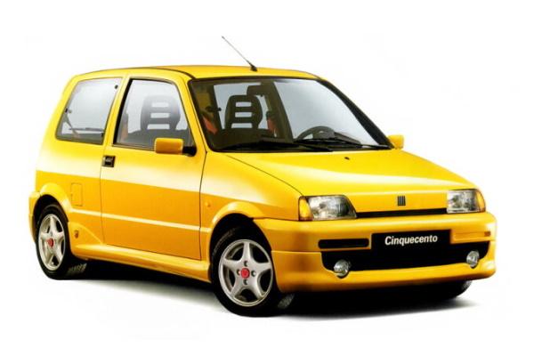Fiat Cinquecento wheels and tires specs icon