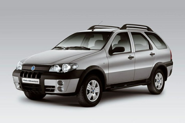 Fiat Palio Adventure wheels and tires specs icon
