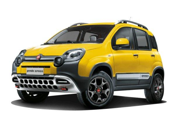 Fiat Panda Cross wheels and tires specs icon