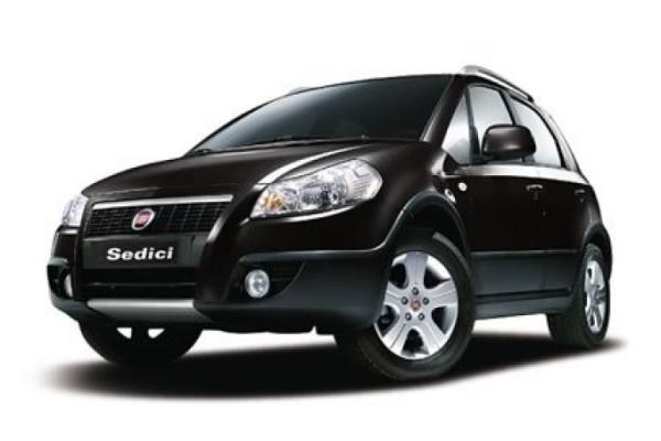 Icona per specifiche di ruote e pneumatici per Fiat Sedici