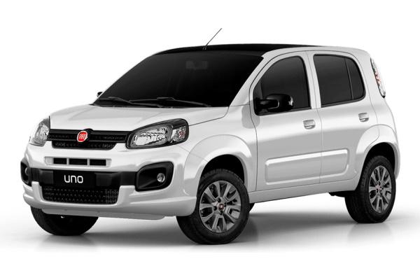 Fiat Uno Räder- und Reifenspezifikationensymbol