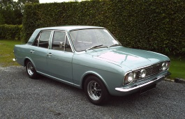 Ford Cortina wheels and tires specs icon