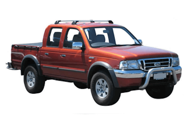 Ford Courier UN Facelift Pickup