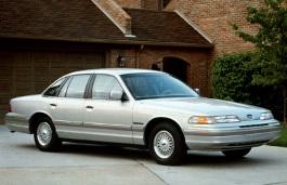 Icona per specifiche di ruote e pneumatici per Ford Crown Victoria